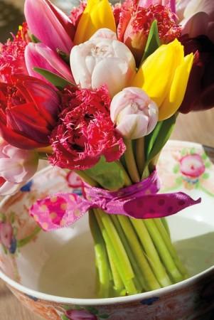 Drivløk til blomsterbuketter